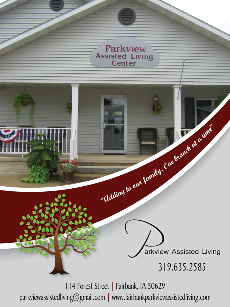 Parkview Assisted Living brochure