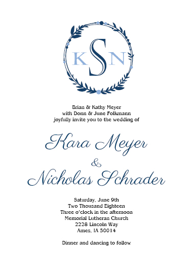 Flat Invitations