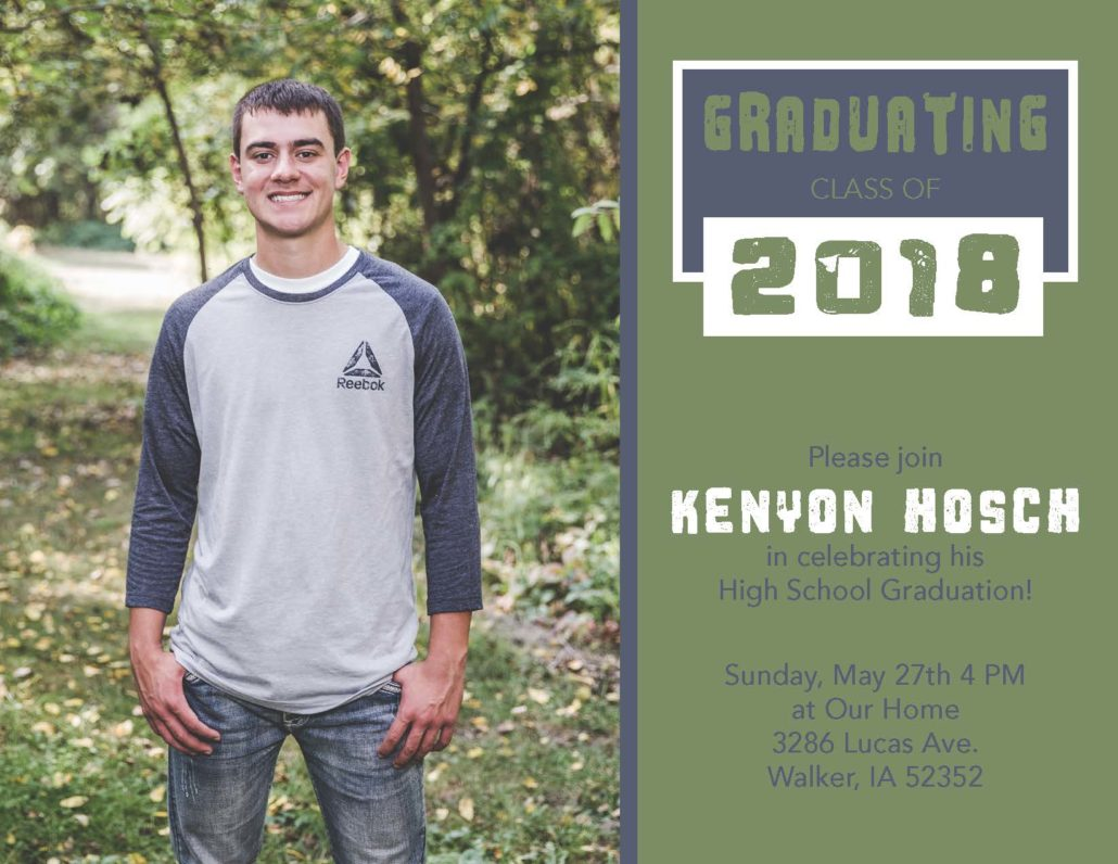 graduation party invite